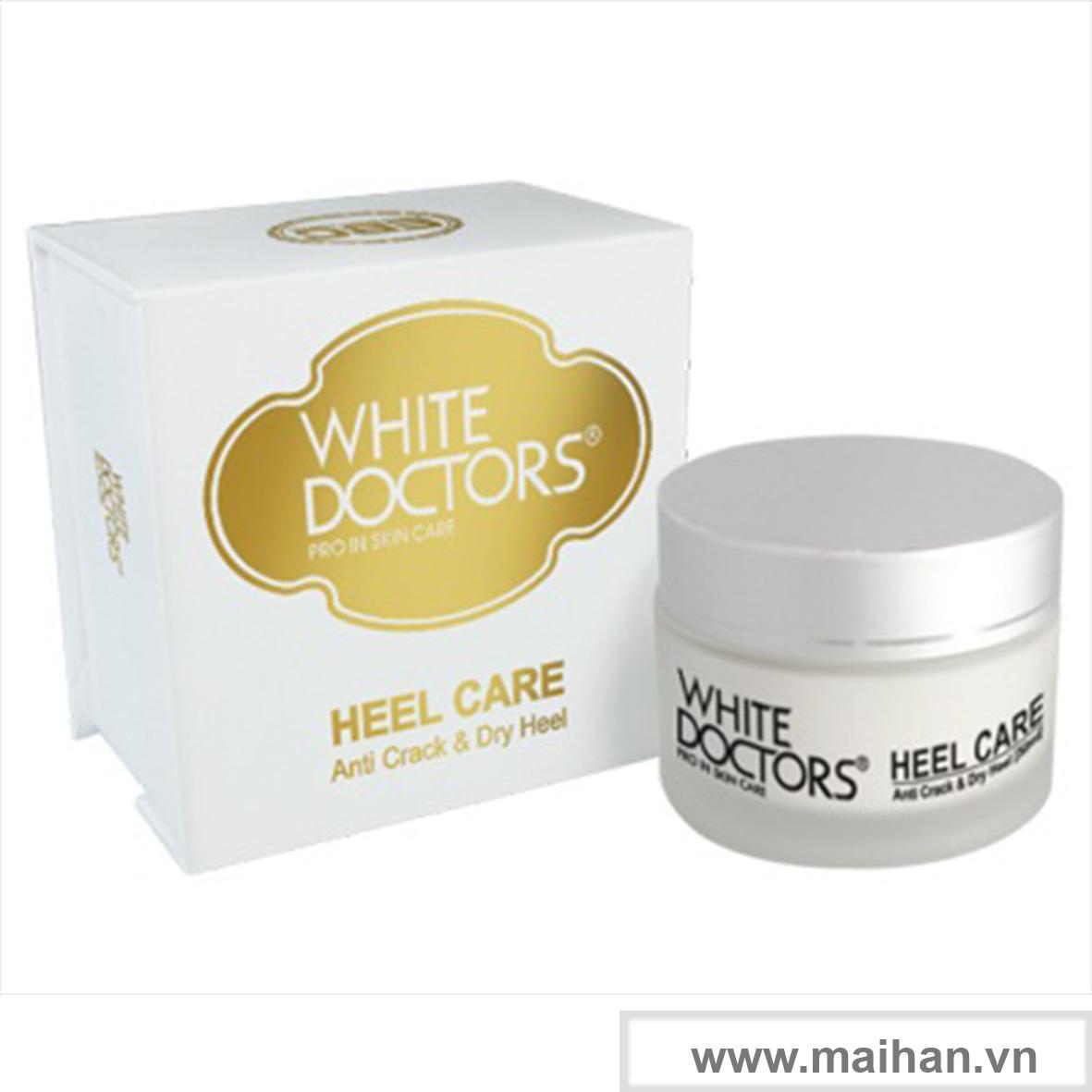 Kem hỗ trợ phòng ngừa nứt gót chân làm mềm da chân White Doctors (Heel Care)