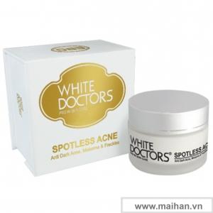 Kem ngừa thâm mụn làm trắng da White Doctors (Spotless Acne)